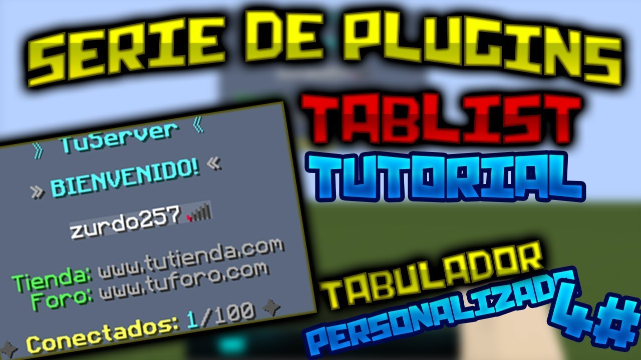 Animated Tab] - TabList | SpigotMC - High Performance Minecraft