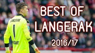 BEST OF MITCH LANGERAK 2016/17 (BEST SAVES)