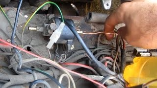 Gas line cleanup (Solenoid Valve)