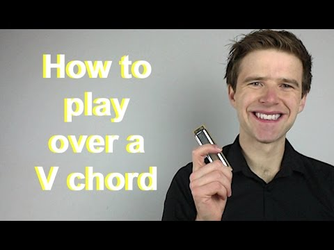 How To Play Over V (five) Chord Of 12 Bar Blues (Essential Blues Harmonica Lessons)
