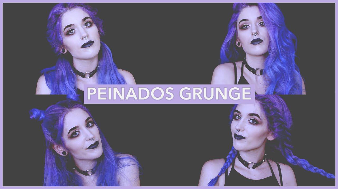 4 Peinados Grunge Y Tumblr Faciles Y Rapidos 4 Super Easy Tumblr