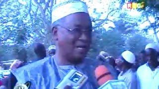 JT RTG 23.02.2014.Thierno Ousmane Diallo Ministre élevage à Guéckédou:conflit éleveurs-agriculteurs