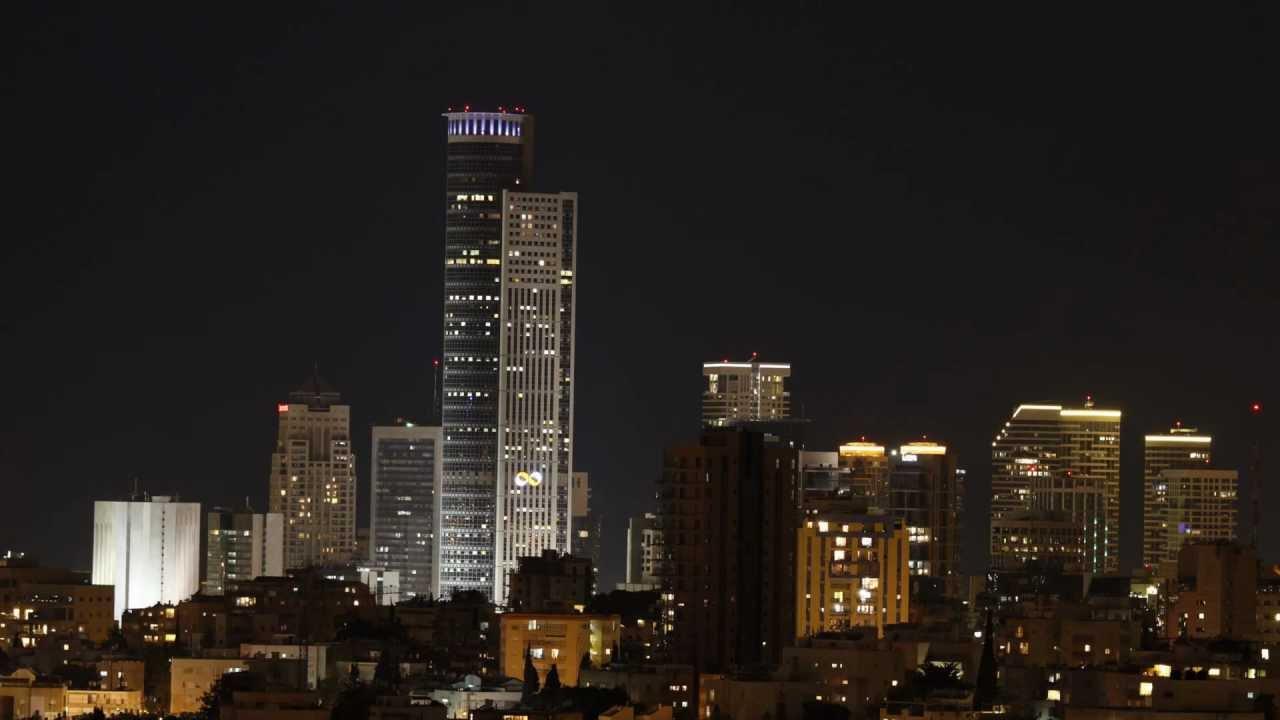 Tel Aviv Hd: תל אביב בלילה HD Time Lapse