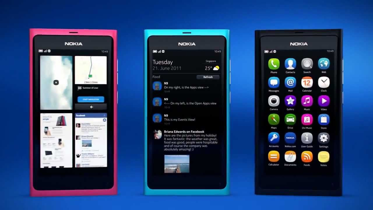 Nokia N9 - Official Video of the Nokia N9 MeeGo Smartphone ...