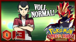 » POKÉMON OMEGA RUBIN #013 - Norman? Normal klatsch ich den! «