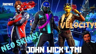 Fortnite-Neo Skinek, female Raptor, John Wick LTM! V 9.00!