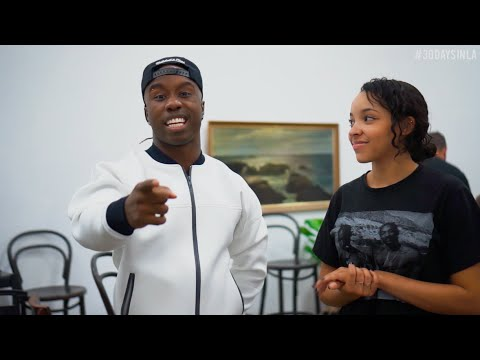 Tinashe learns a dance with WilldaBEAST Adams | #RBSoundSelect #30DAYSINLA