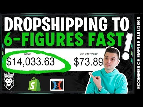 How To Build A 6 Figure Dropshipping Business In 2019 (The Easy Way) thumbnail