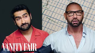 Download Dave Bautista and Kumail Nanjiani Take a Lie Detector Test | Vanity Fair Mp3 and Videos