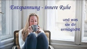 Innere Ruhe - ausgeglichen sein, auch im turbulenten Alltag