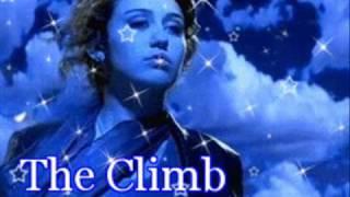 Miley Cyrus -The Climb with Lyrics