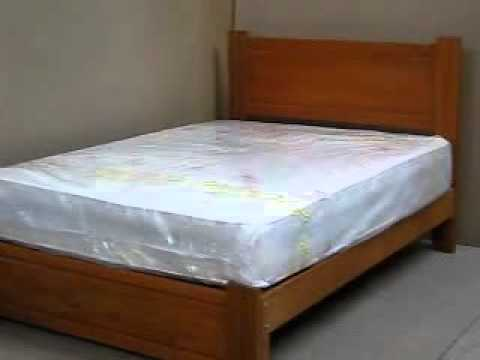 Cama 2 plazas madera tornillo youtube for Como reciclar una cama de madera