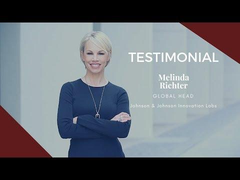 Melinda Richter, Head of Johnson & Johnson Innovation Labs (JLABS)
