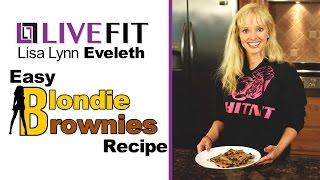 Gluten Free Blondie Brownie Bars!