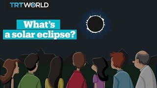 What's a solar eclipse?
