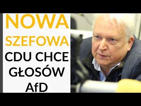 Prof. Miszczak: Nowa szefowa CDU jest bardziej konserwatywna niż Merkel. Wyłuskuje głosy AfD
