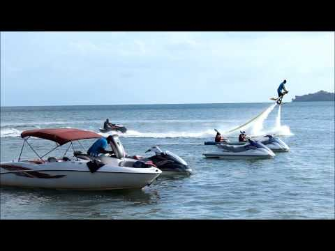Flying with water!!! - Chaguaramas