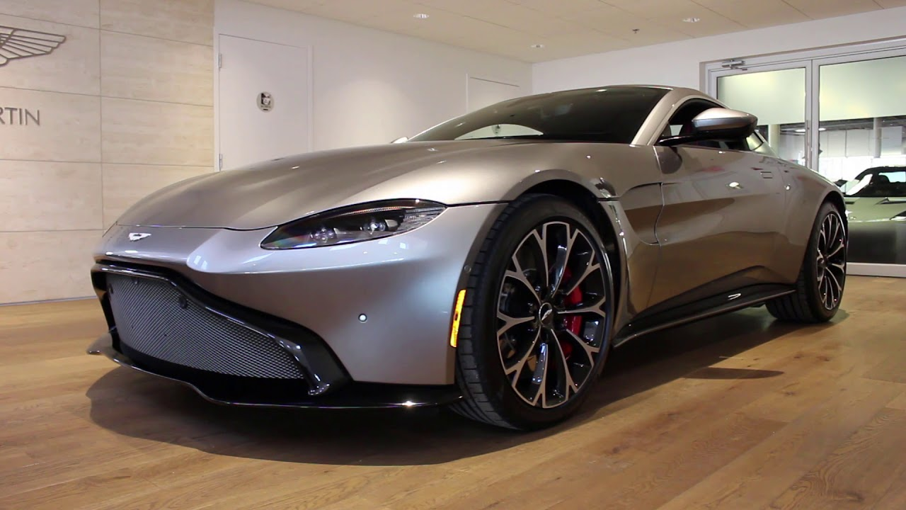 Aston Martin Vantage Review Start Up Revs And Walk Around - Aston martin vantage review