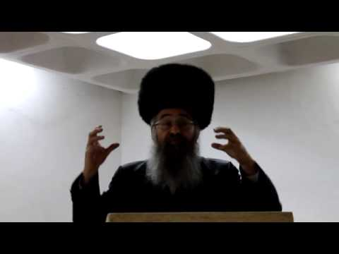 "Rav Lazerson Hesped on Zaidy Friedenson z""l"