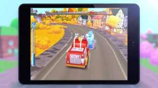 Gocco Fire Truck Google Play Trailer - 3D Games for Tiny Firefighters By SMART EDUCATION, LTD.