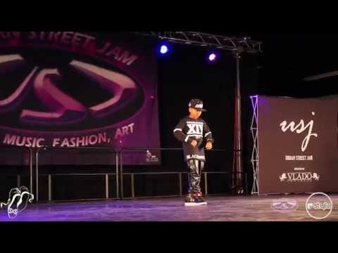 Kida The Great | Exhibition | Urban Street Jam 2015 | #SXSTV