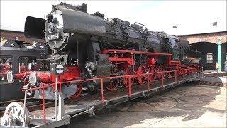 Dampflok 52 8177-9 auf Drehscheibe- Staßfurt 2019