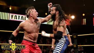 Enzo Amore vs. Sylvester Lefort - Hair vs. Hair Match: NXT TakeOver: Fatal 4-Way, Sept. 11, 2014