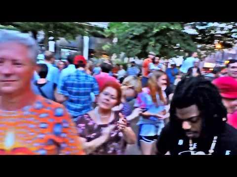 Asheville drum circle FRIDAY