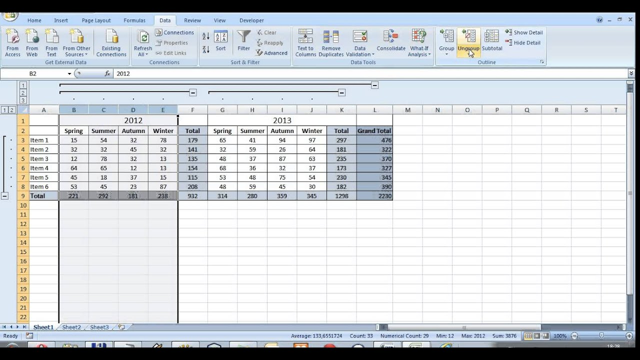 worksheet Unhide Worksheet In Excel 2010 how to create a button for hiding rows or columns youtube