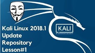 Kali Linux 2018.1 Update Repository  Lesson#1