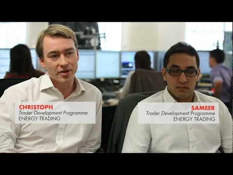 Shell Trading - Christoph & Sameer, Traders in Development |