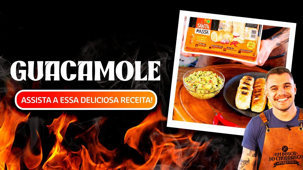 GUACAMOLE: prepare esse delicioso acompanhamento com PÃO DE ALHO! | Santa Massa