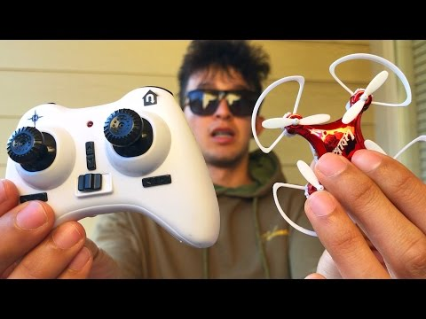EL DRONE MAS PEQUEÑO DEL MUNDO!!! (HotSpanish Vlogs)