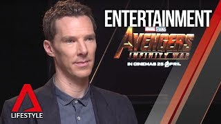 "Avengers: Infinity War ""about being stronger united"": Benedict Cumberbatch 