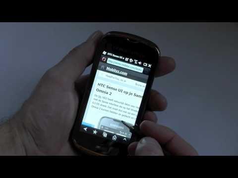 Samsung Giorgio Armani Samsung Smartphone B7260, hands on