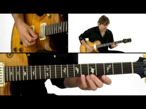 Lead Guitar Lesson - #14 Superimposing Pentatonics - Solo Mojo - Shane Theriot