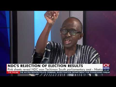 NDC's Rejection of Election Results: EC gazetting wrong results cannot stand – Nketia (20-12-20)