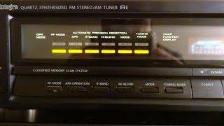 Onkyo T-4500 top vintage tuner тест