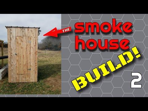 Smokehouse Build Part 2