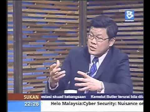 Helo Malaysia - Bernama TV - Cyber Security Nuisance Or Chaos - 12.11.2012