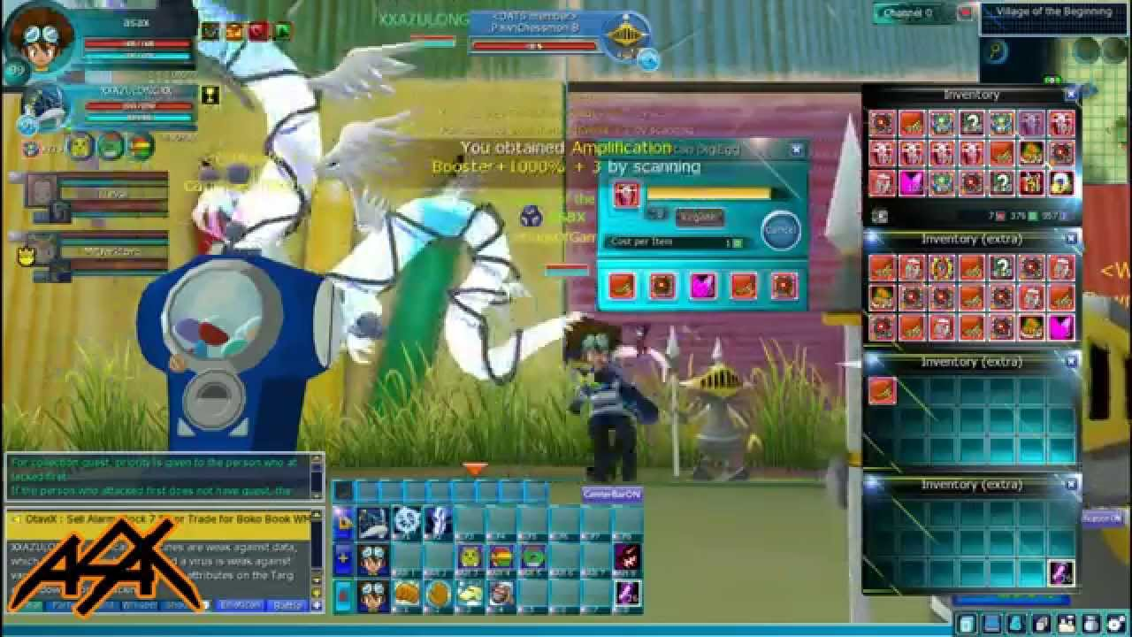 Digimon masters online scanning 1000 2015 easter gift boxes youtube negle Images