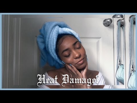 Heat Damage?! Straightening Natural Hair in a Salon for the First Time in 4 Years | As Told By Kira