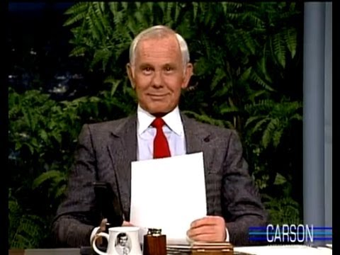 Johnny Carson Reads Letters to Santa on Tonight Show 1988 - YouTube