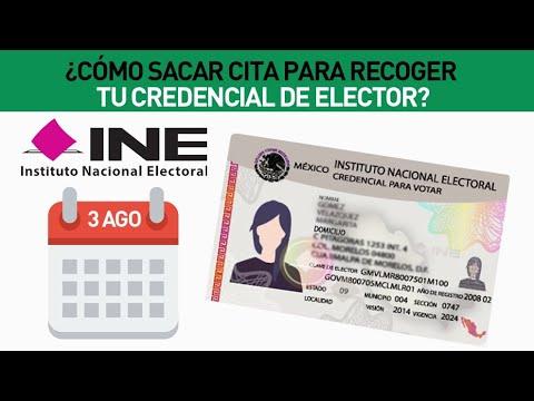 INE: ¿Cómo sacar cita para recoger tu credencial de elector?