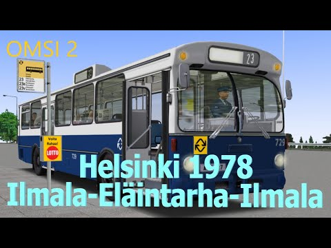 [OMSI 2] Helsinki 1978 Map -  Ilmala-Eläintarha-Ilmala