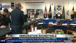 SEIZED AT THE BORDER: Federal Agents Explain Drugs, Weapons, Money Found to President Trump (FNN)