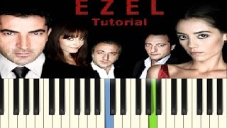 Ezel - Piano Tutorial