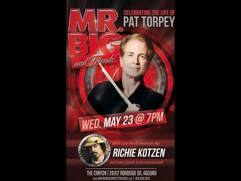 Tribute concert for late MR. BIG drummer Pat Torpey - Beast in Black guitarists interviewed!