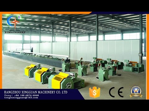 Muti-line copper coating line for MIG and SAW welding wire production line
