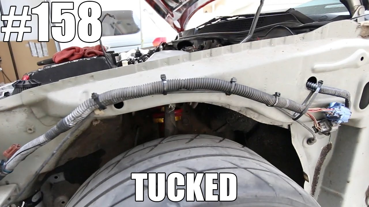hight resolution of headlight harness tuck